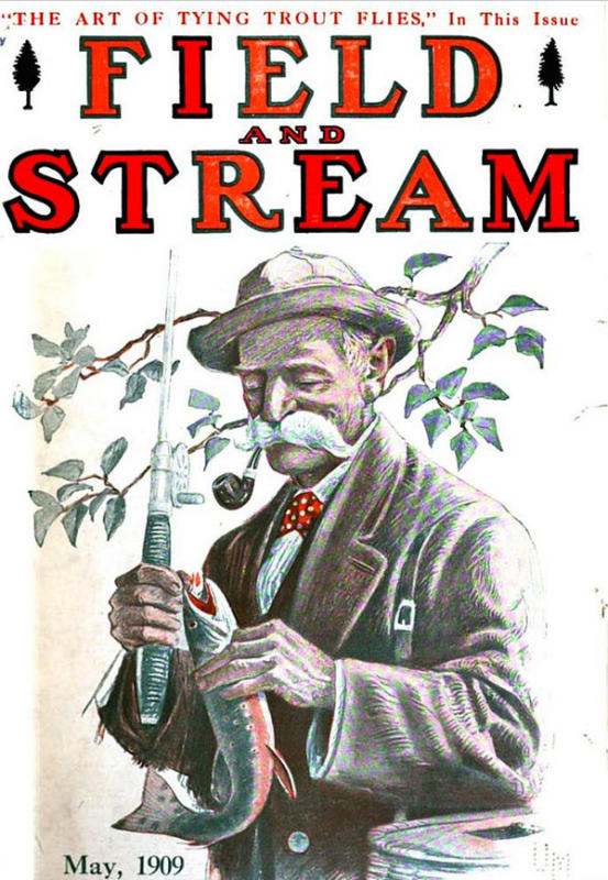 Ten Obscure Pre 1930 Field Amp Stream Covers Sporting