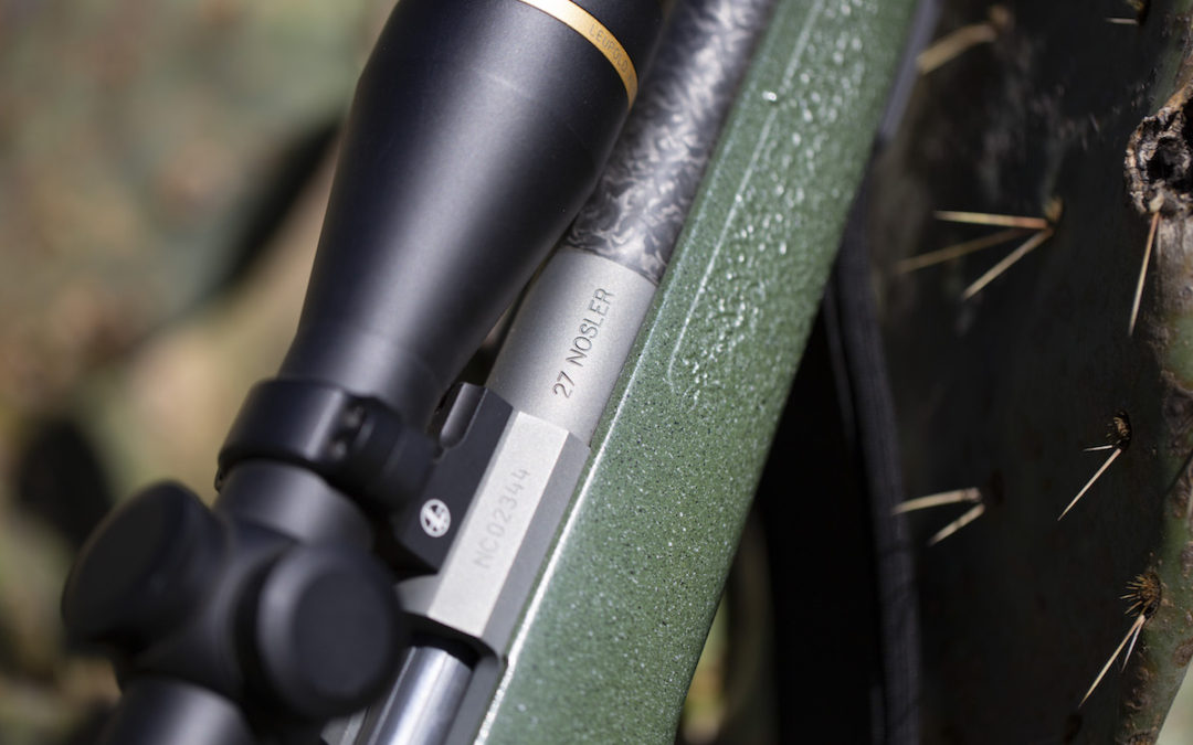 27 Nosler Cartridge Redefines .270 Performance